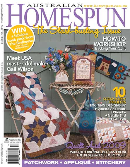 Australian Homespun Magazine Subscription