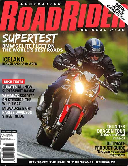 Australian Road Rider Magazine Subscription