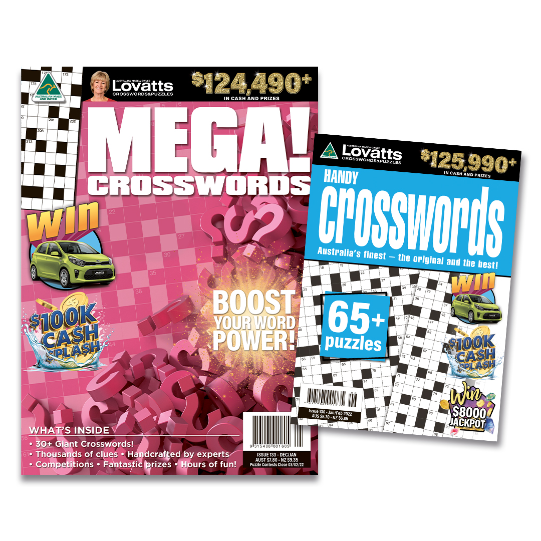 Crossword Bundle (NZ)- 6 months (Lovatts)