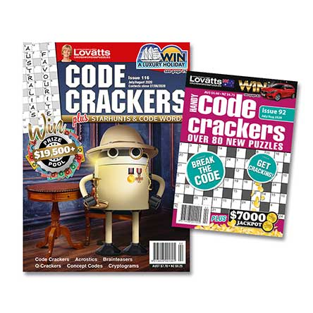 Code Crackers Bundle (NZ)-6 months (Lovatts)