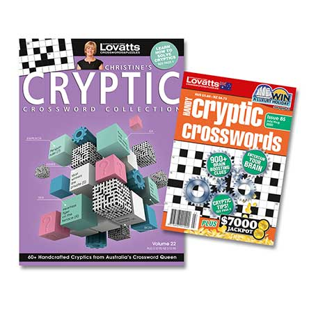 Cryptics Bundle (NZ)- 7 Issues (Lovatts)