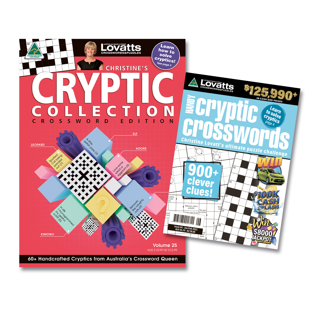 Christine's Cryptic Crossword Bundle (NZ) 16 issues