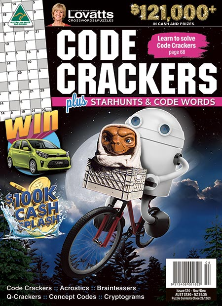 Lovatts Code Crackers Magazine Subscription