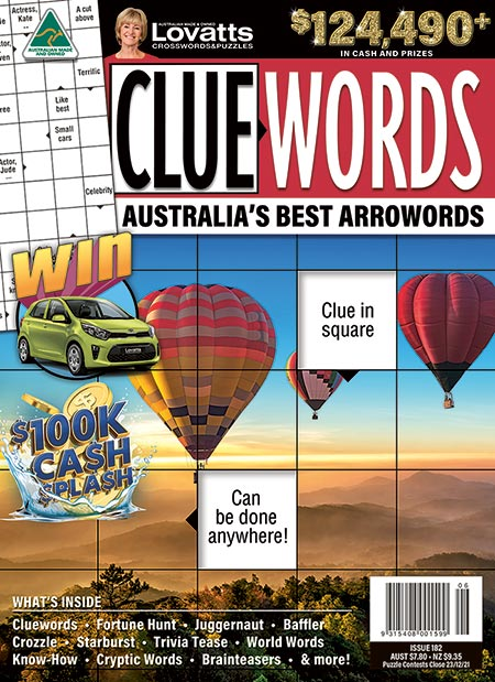 Lovatts Cluewords MAgazine Subscription