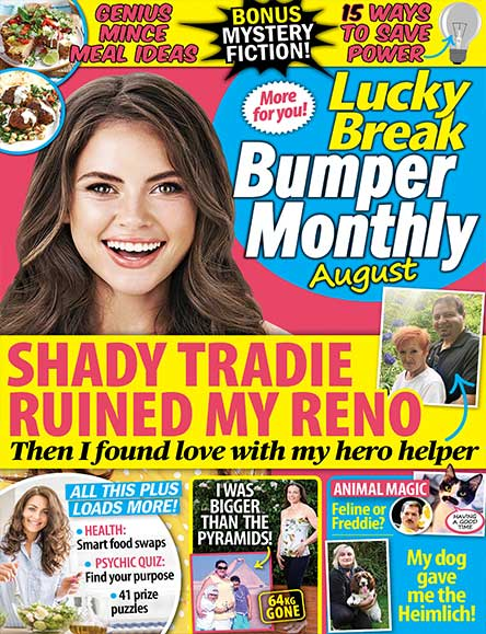 Lucky Break NZ Magazine Subscription