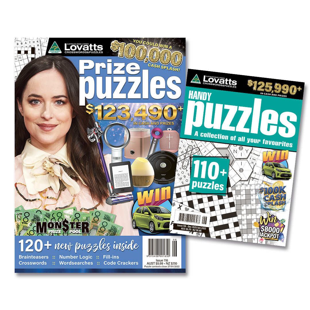 Lovatts Puzzles Bundle NZ - 6 issues