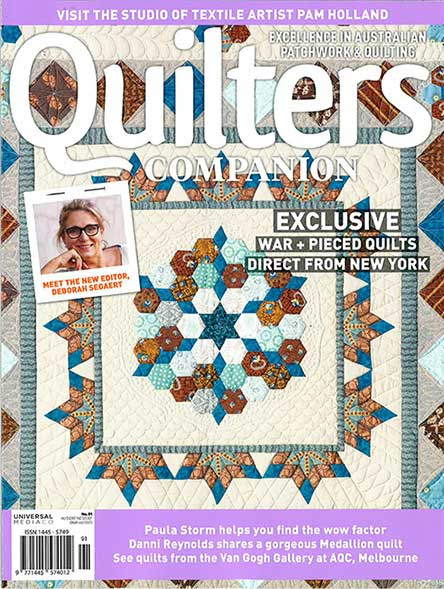 Australian Quilters Companion Magazine Subscription