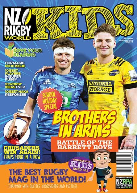 Nz Rugby World Kids Magazine Subscription Magshop