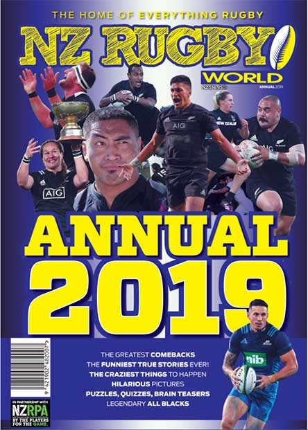 NZ Rugby World ANNUAL 2019